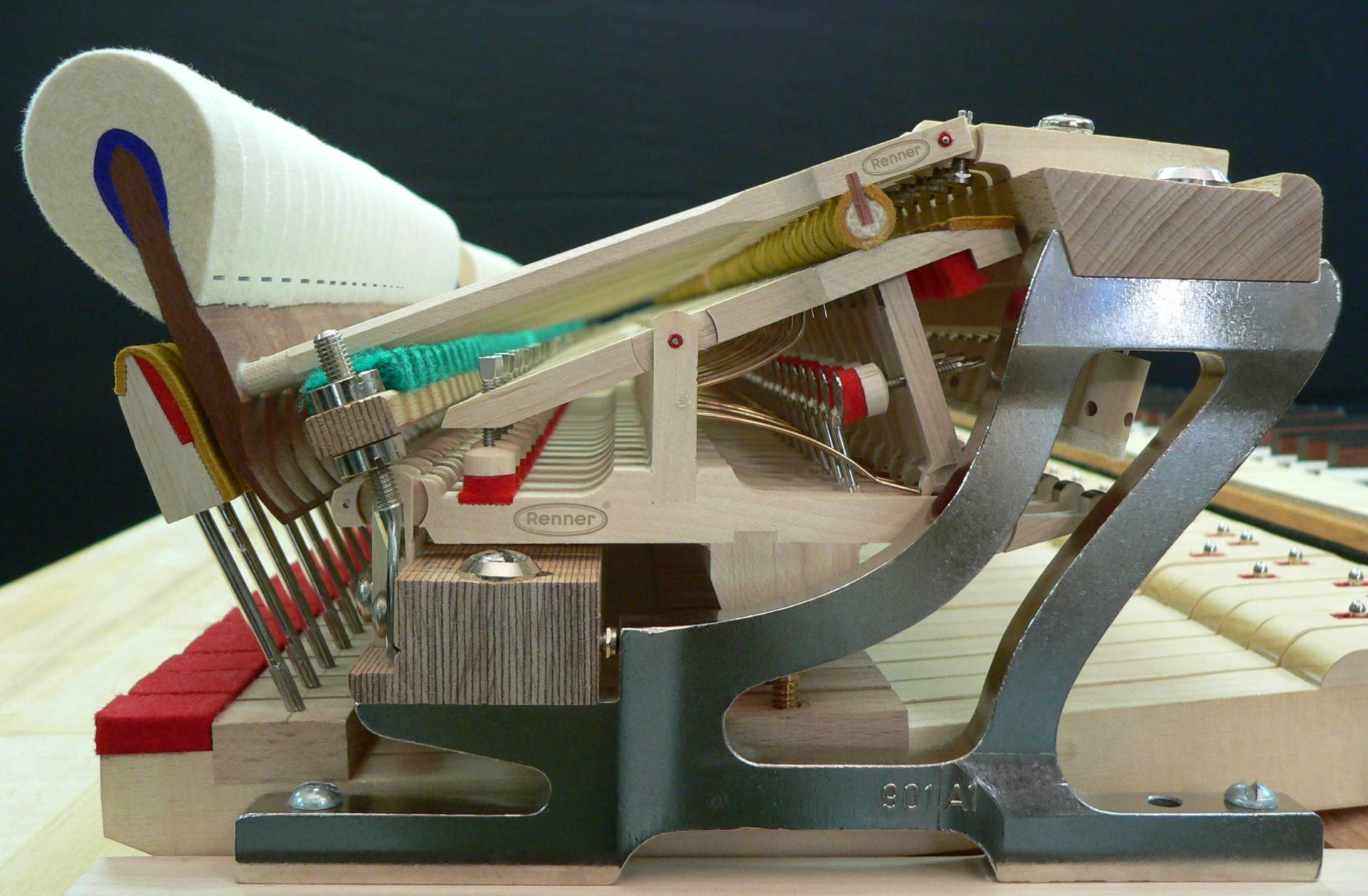 Renner Grand Piano Action Photo