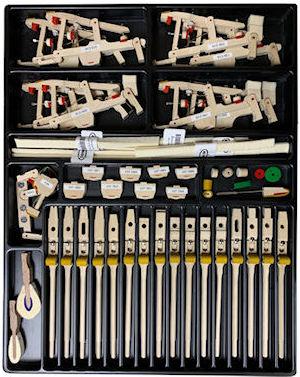 Renner USA sample piano action parts kit.